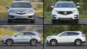 新款豪华SUV讴歌RDX到底和老款有什么区别?