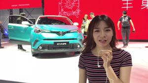 颜值担当!最帅气的小型SUV丰田C-HR亮相北京