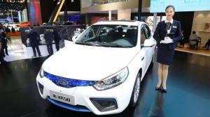 江淮iEVA50北京车展上市, 补贴后售价12.25万元起