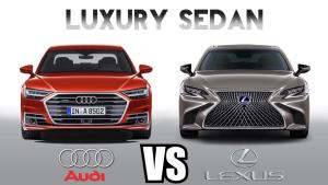 豪华轿车之间的对决 全新奥迪A8和雷克萨斯LS哪个是你