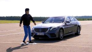 奔驰S级豪华车那些令人瞠目结舌的高科技!