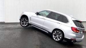 2018年宝马X5 xDrive40e 对角线测试