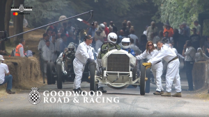 110 岁的梅赛德斯 Grand Prix 赛车亮相 2018 古德伍