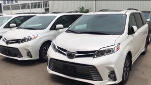 18款丰田塞纳商务车家用旅游自驾游推荐车型