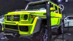 越野干将奔驰专属改装厂出品 2018款巴博斯G550 4x4
