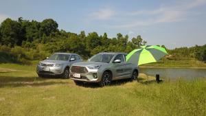 盛夏时节,驾驶12W级SUV去避暑,表现竟如此完