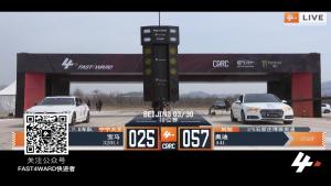 FAST4WARD  北京站 宝马320l.i vs 奥迪a4l