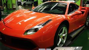 狂暴超跑!法拉利488改装天蝎排气全段 陕西丰雄汽车