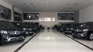 18款奔驰GLS450店庆优惠参数油耗视频实拍配置讲解