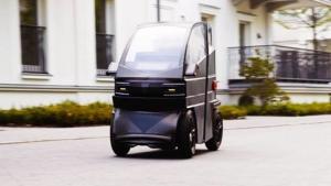 可以自行延伸轴距的iEV X电动车