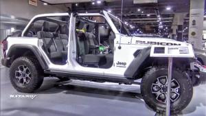 越野硬派可拆卸式车顶 Jeep牧马人罗宾汉Unlimited