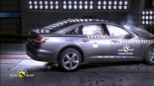 荣获五星安全评价 全新奥迪A6 E-Nacp安全碰撞测试