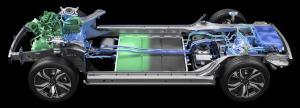SERES SF5增程版车型动力系统演示