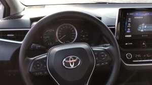 抢鲜看:丰田卡罗拉1.8L双擎配备车道偏离辅助