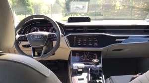 抢鲜看:全新奥迪A6L德产品质体现,车门开关顺畅
