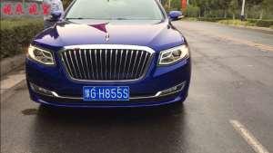 第一次坐红旗H7的后排,终于知道了什么叫中国高级轿车,非常厉害