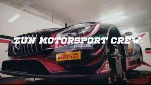 澳门格兰披治大赛车ZUN车队奔驰AMG GT3赛车精彩集锦