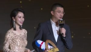 谭本宏领奖视频
