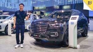 7.6秒破百 预售13万起 哈弗H6 GT静态首测 | 2019广州车展