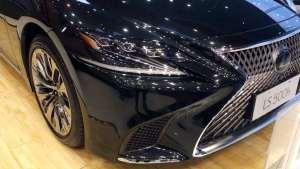 雷克萨斯旗舰轿车LS静态展示,领略不同于德系豪华车的东方韵味