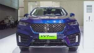 动力不输燃油车!豪华插混市场新宠,WEY VV7 PHEV百公里油耗1.6L