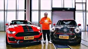 让个性更加纯粹 MINI JCW x Shelby GTE