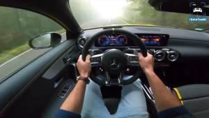 第一视角体验2020款梅赛德斯-AMG A 45