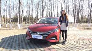1.4L+CVT,省油好开,试驾新一代北京现代悦纳