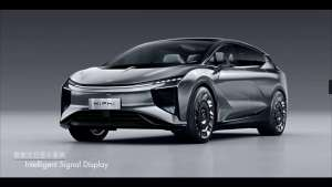 未来感十足...... 华人运通发布的首款量产定型车 高合HiPhi 1