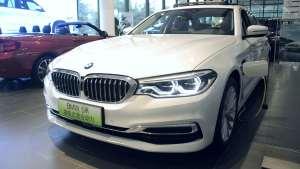 车视探店|2020款BMW 5系插电式混动版,综合优惠8万