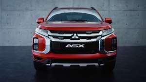 2020款三菱ASX改款车型亮相