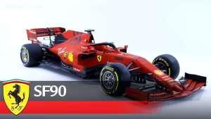 2019法拉利F1赛车SF90炫酷发布