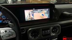 奔驰AMG-G63改装原厂360全景案例