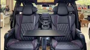 【环球商务房车】新款奔驰V260L国6标准,紫色内饰