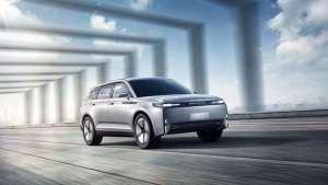 【车现场】博郡汽车智能电动SUV博郡iV6  iV7全球首秀