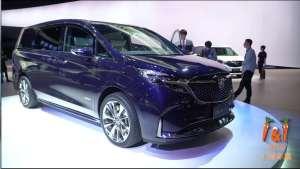 别克GL8 Avenir概念车上海车展首发,科技感十足