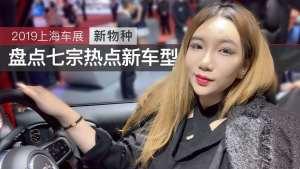 2019上海车展新物种 盘点七宗热点新车型