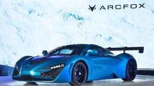 百公里加速2.59s!北汽新能源逆天打造超跑ARCFOX GT
