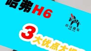 一分钟撩车:哈弗H6的3大优点,红蓝标阵营对抗