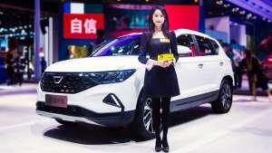 安安上海车展现场解答网友疑问:捷达VS5能买吗?
