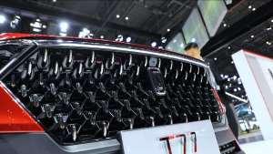 上海国际车展:奔腾T77亮相