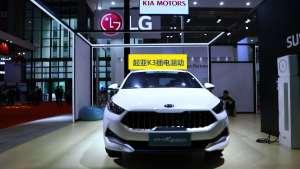 全新起亚K3 PHEV亮相上海国际车展