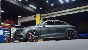 奥迪A3改装德国TEI Racing高性能运动短弹簧