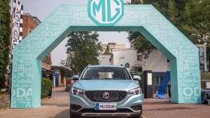 史上最大规模的全球纯电SUV交付 名爵EZS全球