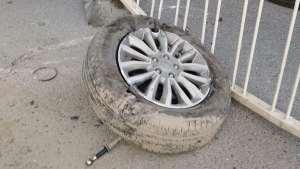 上班遇到哈弗H6严重车祸,安慰司机后帮其报警报保险