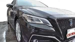 丰田全新第十四代皇冠2.5L混动RS版到店实拍