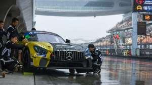 China GT GT4组雨战上赛
