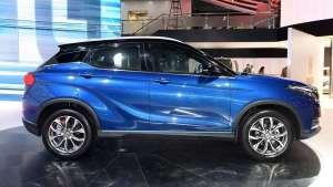 纯电动SUV新选择!轴距2655mm,内饰高级,预售10万起