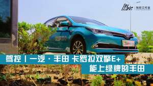 驾控丨一汽·丰田 卡罗拉双擎E+ 能上绿牌的丰田