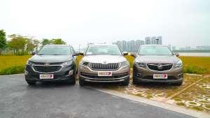 中型SUV欧美之争 柯迪亚克/探界者/昂科威三车对比